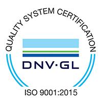 DNV-GL Management System Zertifikat - ISO 9001:2015